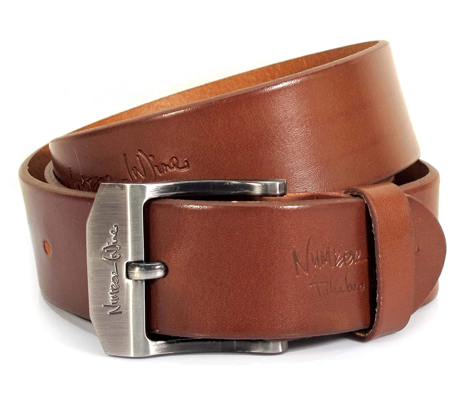 CU5 Mens Real Genuine Leather Belt Black Brown White 1.5 Wide S-XL Casual Jeans