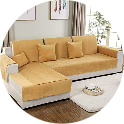 Amazon.com: HANBINGPO Red Blue Yellow Waterproof Sofa Cover ...