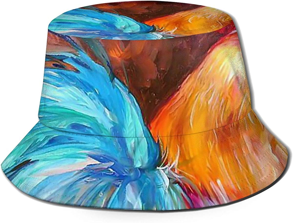 Rooster Painting Art Bucket...