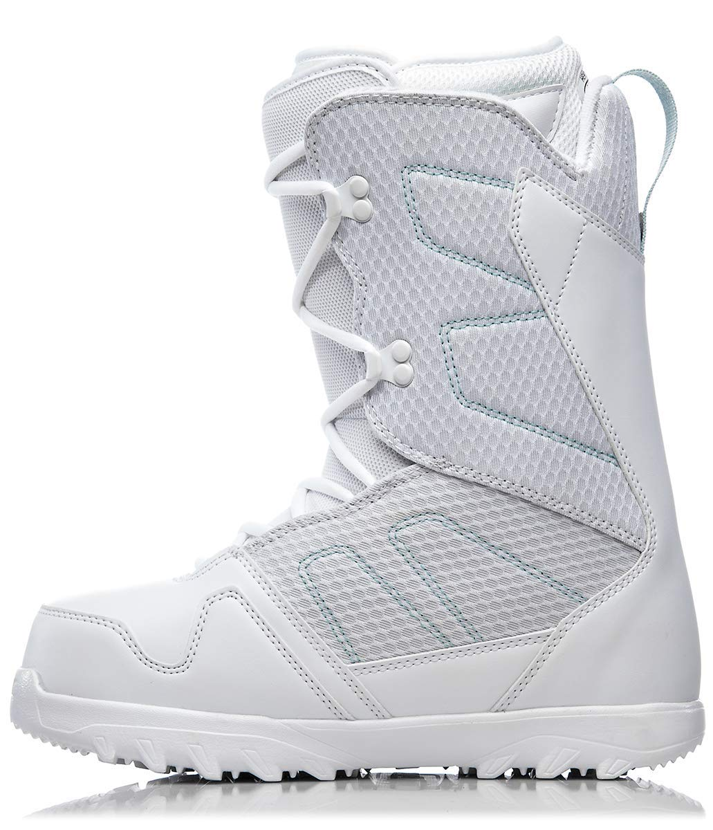 ThirtyTwo Exit Women's '18 Snowboard Boots, White, 9 by ThirtyTwo