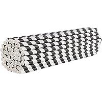 Jumbo Paper Smoothie-rietjes - Eco-Vriendelijke Biologisch Afbreekbare Grote Rietjes - 100 Stuks, 8 mm x 210 mm - Niet…