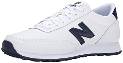 Mens Shoes New Balance NB501 White/Steel Grey
