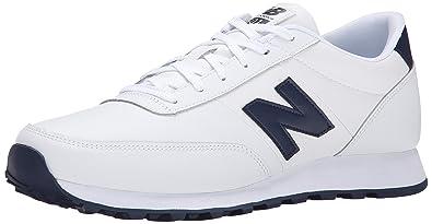 new balance leather white