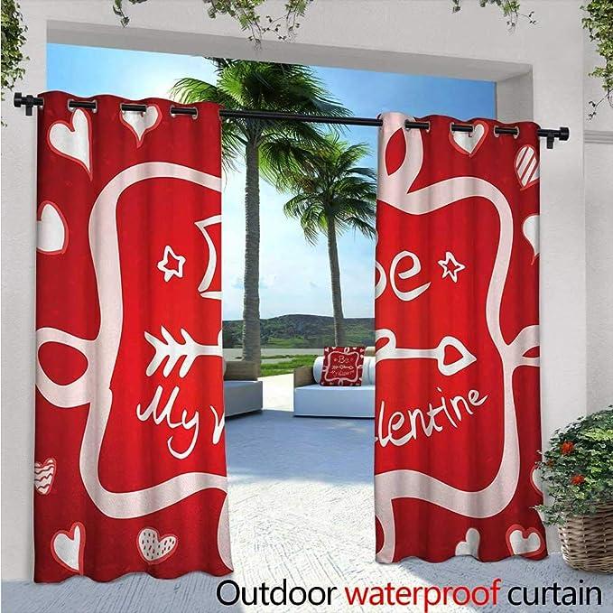 Cortina de privacidad para exteriores romántica para pérgola ...
