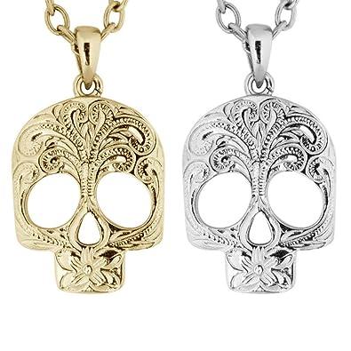 Amazon hawaiian jewelry bundle by austaras 2 skull pendants hawaiian jewelry bundle by austaras 2 skull pendants set aloadofball Image collections