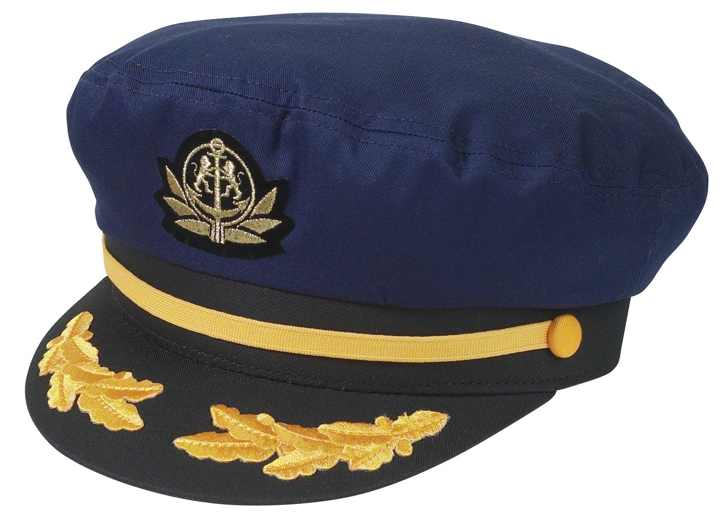 Broner Original Flag Ship Yacht Cap. One Size Fits Most (Navy)