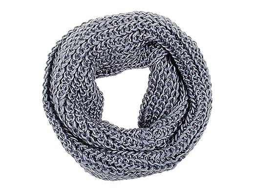 202bcd2de9fb Echarpe – Viper Tube en boucle Foulard Snood écharpe autour du cou tricoté  hiver multi,