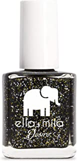 product image for ella+mila Nail Polish, Desire Collection - Black Tie Affair