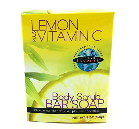Transparente Essence limón Plus Vitamina C cuerpo Jabón