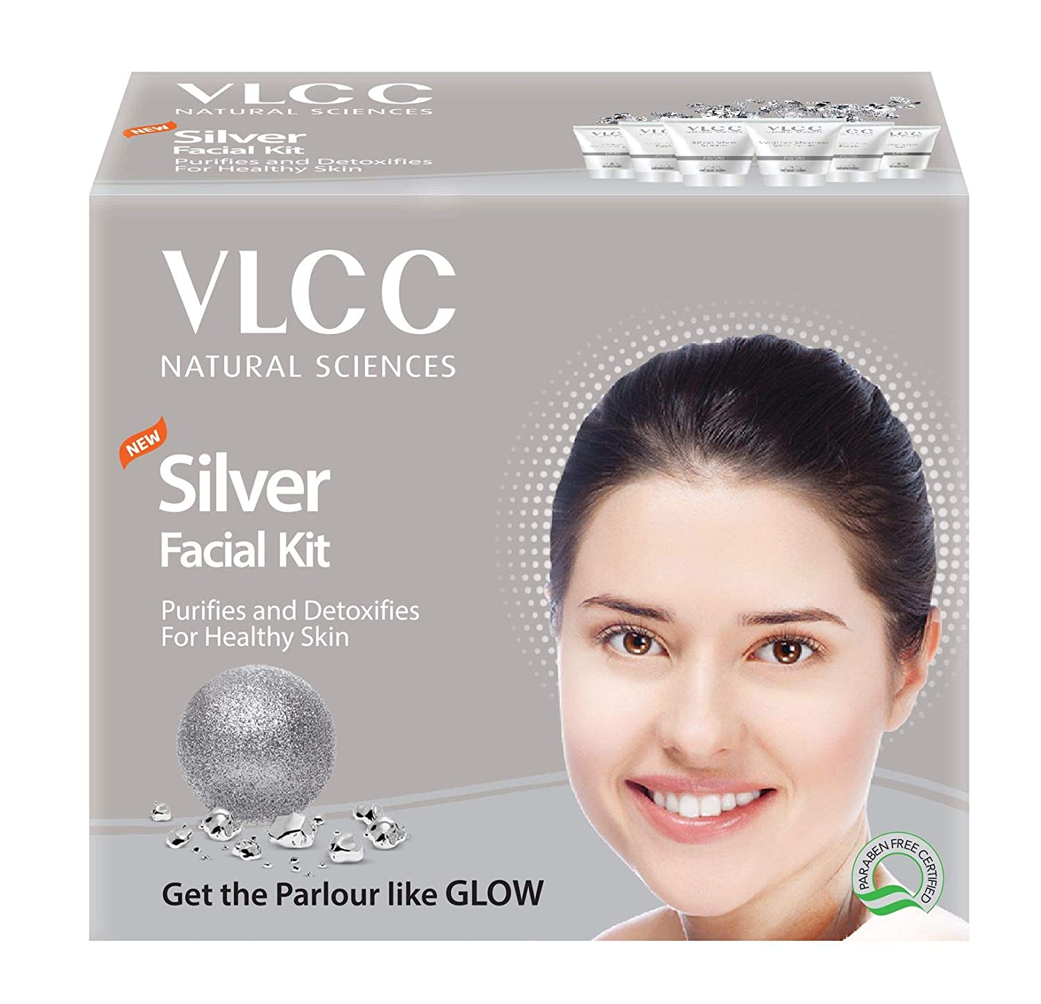 VLCC Natural Sciences Silver Facial Kit