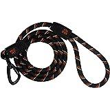 KRUZ Pet Correa reflectante para perro – KZROPE5060-L8L – Agarre de silicona suave – Clic & Lock Snap – Pet Walking, correr,