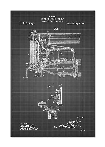 Ford Model T Engine Diagram