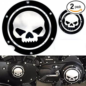 Derby Timing Timer Covers Compatible with Harley Sportster XL Iron 883 1200 Seventy Two HTTMT MT429-002C