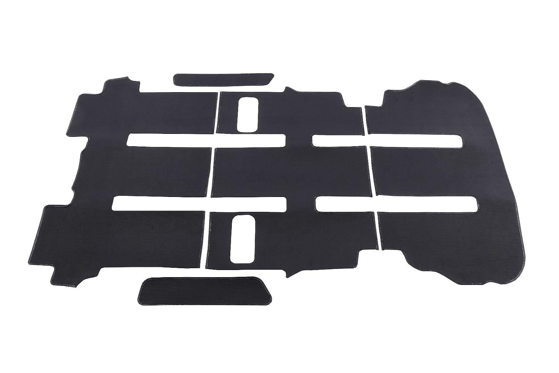 クラッツィオ ( Clazzio ) フロアマット (平面タイプ) トヨタ ノア ハイブリッド / ヴォクシー ハイブリッド 80系 7人乗り【リア用オプションマット】ラバータイプ (ブラック) ET-1580-01 (59ETR1580X01K) B01CQFY6P6