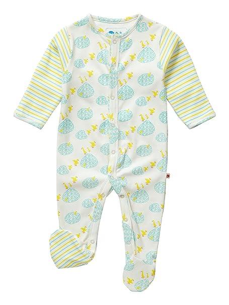Piccalilly, Mameluco con pies, Jersey de algodón orgánico, bebé ...