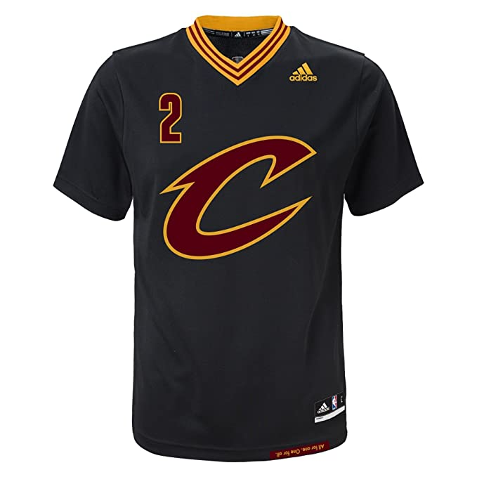 NBA Cleveland Cavaliers Kyrie Irving niños réplica orgullo Jersey - 28UNC 1X, Blanco: Amazon.es: Deportes y aire libre