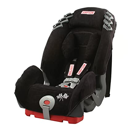 Simpson Racing 92000 Black With Gray Base Cargo Child Car Seat