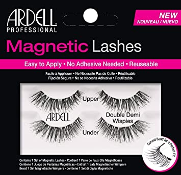 b5a46f92e04 Amazon.com : Ardell Professional Magnetic Double Strip Lashes, Demi Wispies  : Beauty