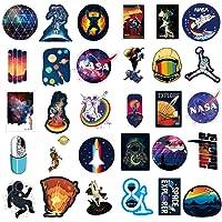 NASA Stickers for Laptop [100PCS], Pegatina Explorador de Espacio Calcomanías de Vinilo para Botella de Agua MacBook…
