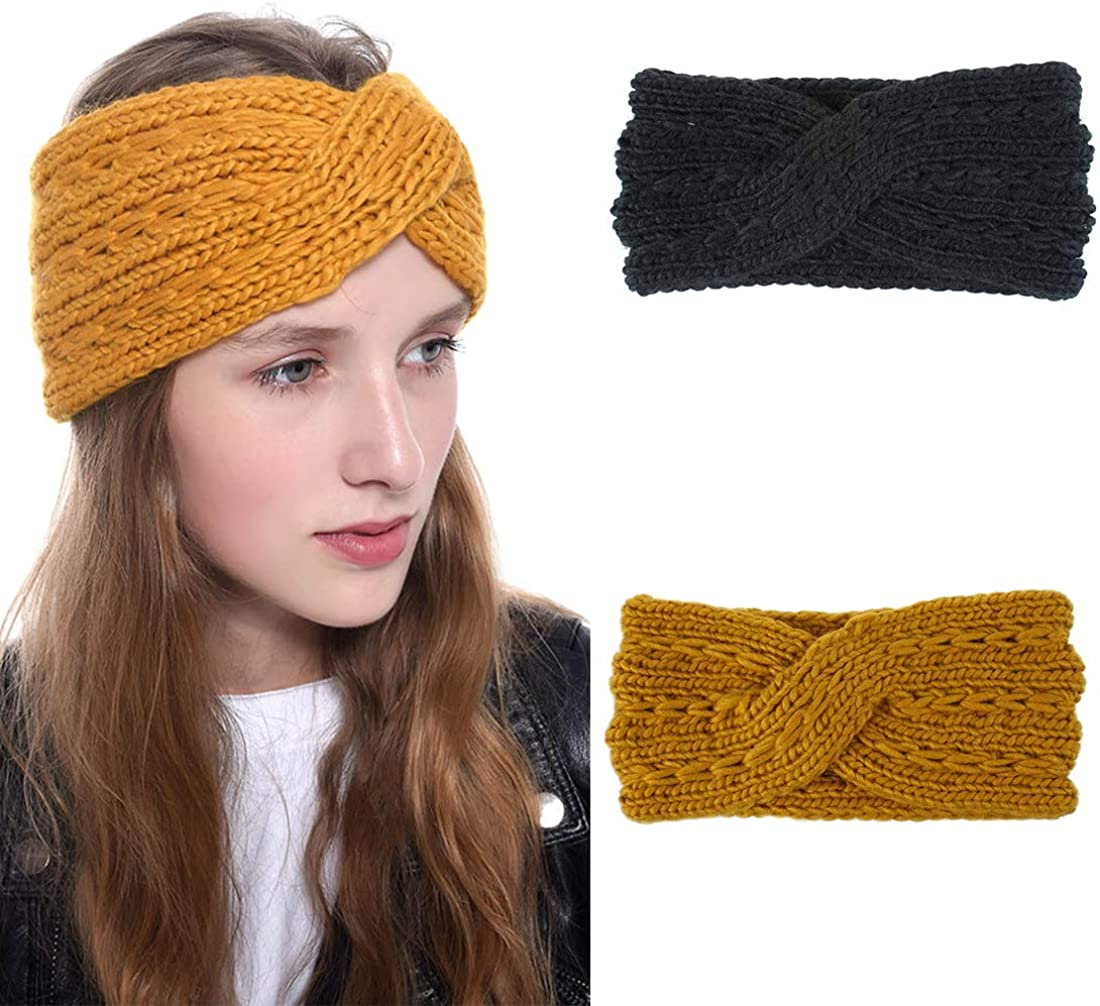 Crochet Ear Warmers Cable...