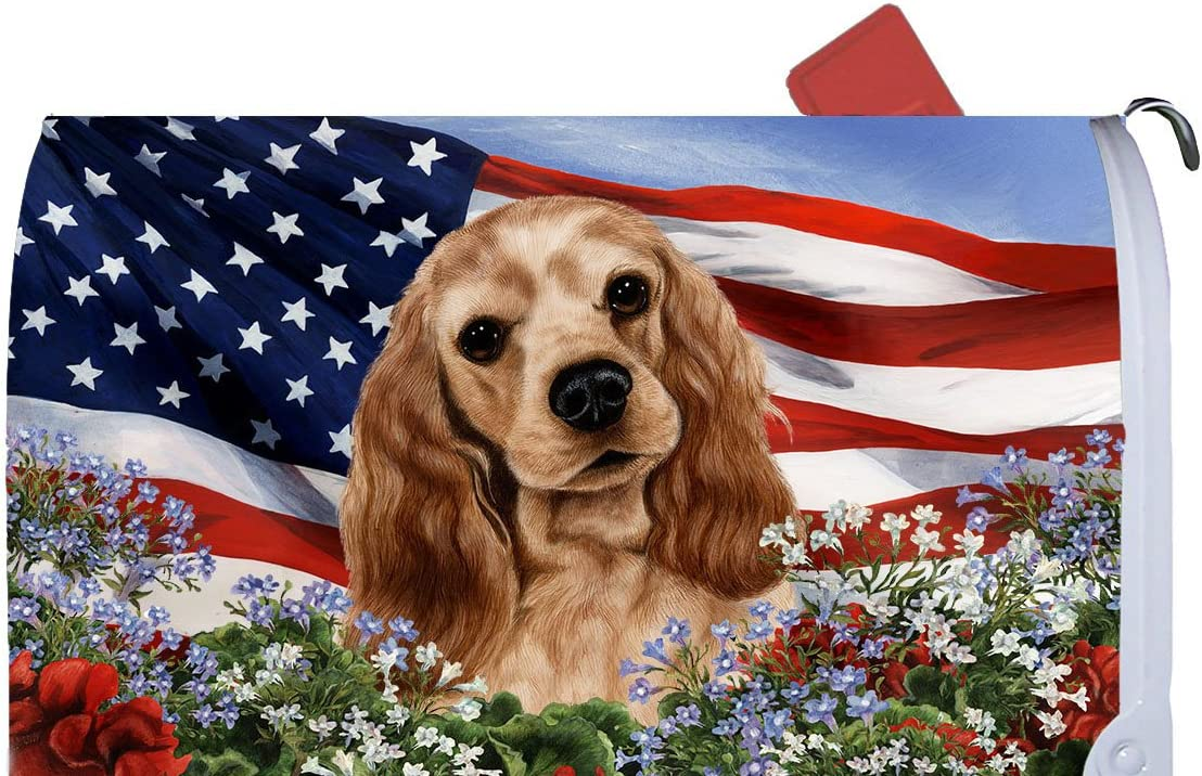 motor Incontable Alaska  Amazon.com: Best of Breed Cocker Spaniel Buff Patriotic I Dog Breed Mail  Box Cover: Home Improvement
