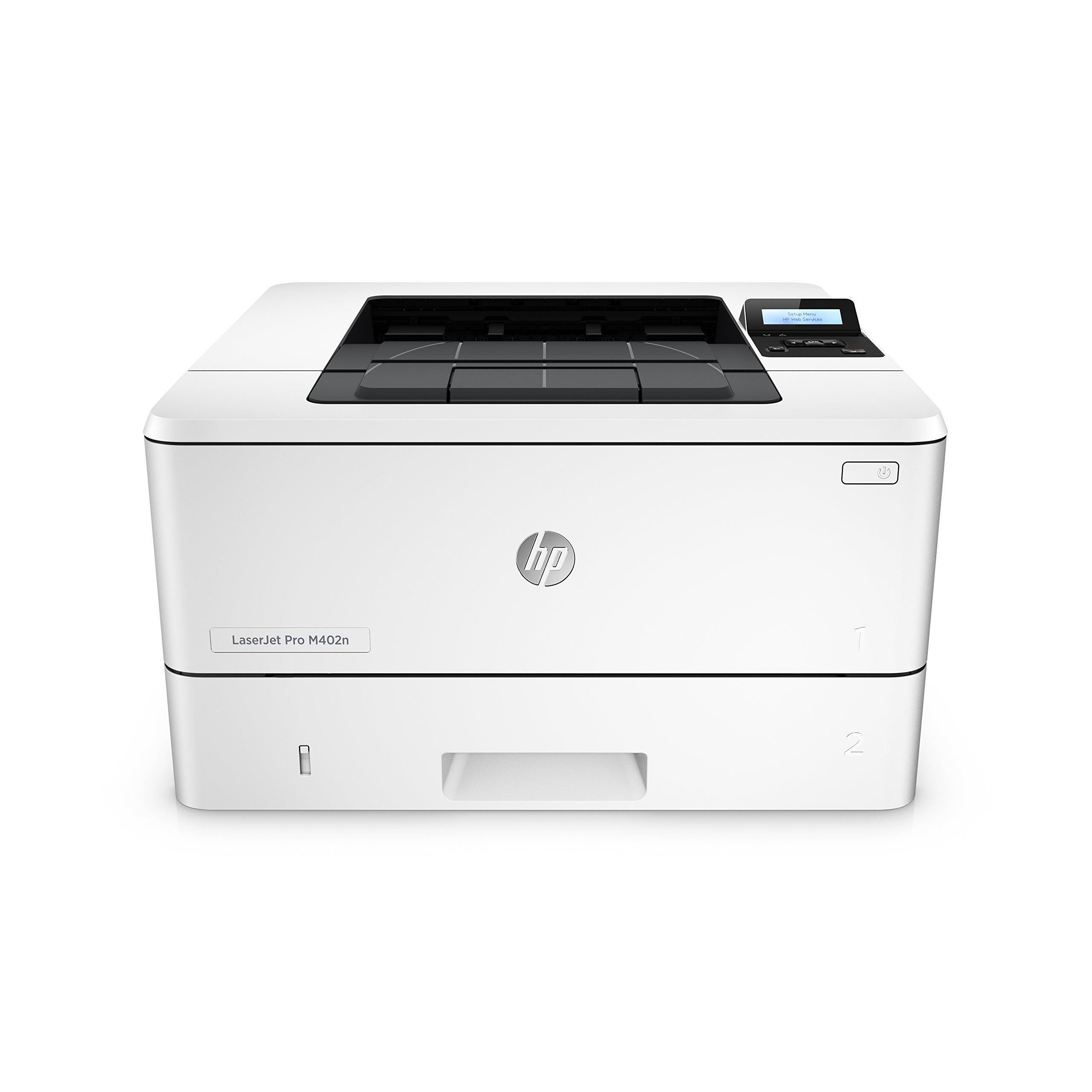 HP Laserjet Pro M402n Monochrome Printer, (C5F93A) (Renewed) by HP (Image #1)
