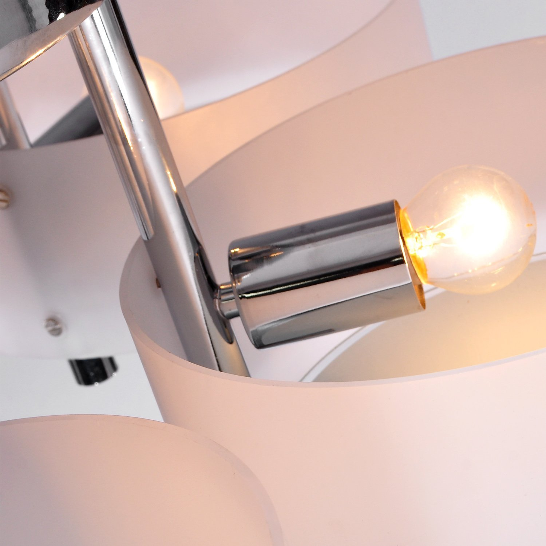 Alfred modern acrylic chandelier with 5 lightschrome finish alfred modern acrylic chandelier with 5 lightschrome finishceiling lightflush mount for study roomoffice bedroom living room amazon arubaitofo Choice Image