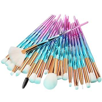 Amazon.com: Professional Face Eye Foundation Makeup Brush ...