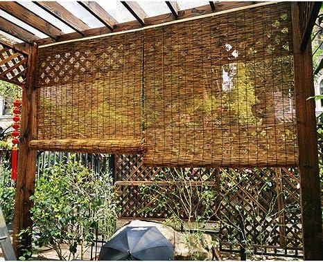 Filit Persianas de bambú, Cortina de láminas para Exteriores ...