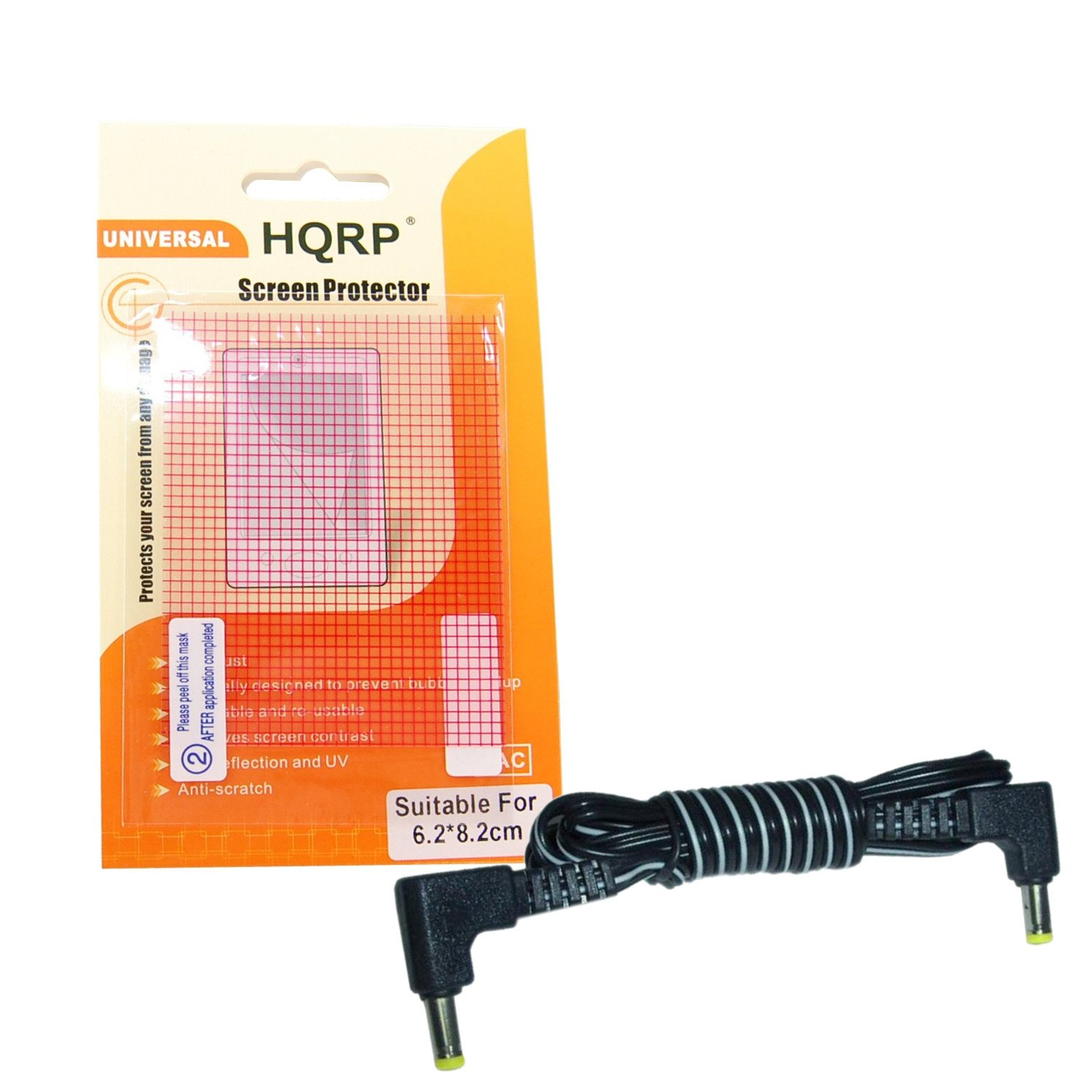 Amazon. Com: hqrp dc cable cord compatible with panasonic nv-gs35eg.