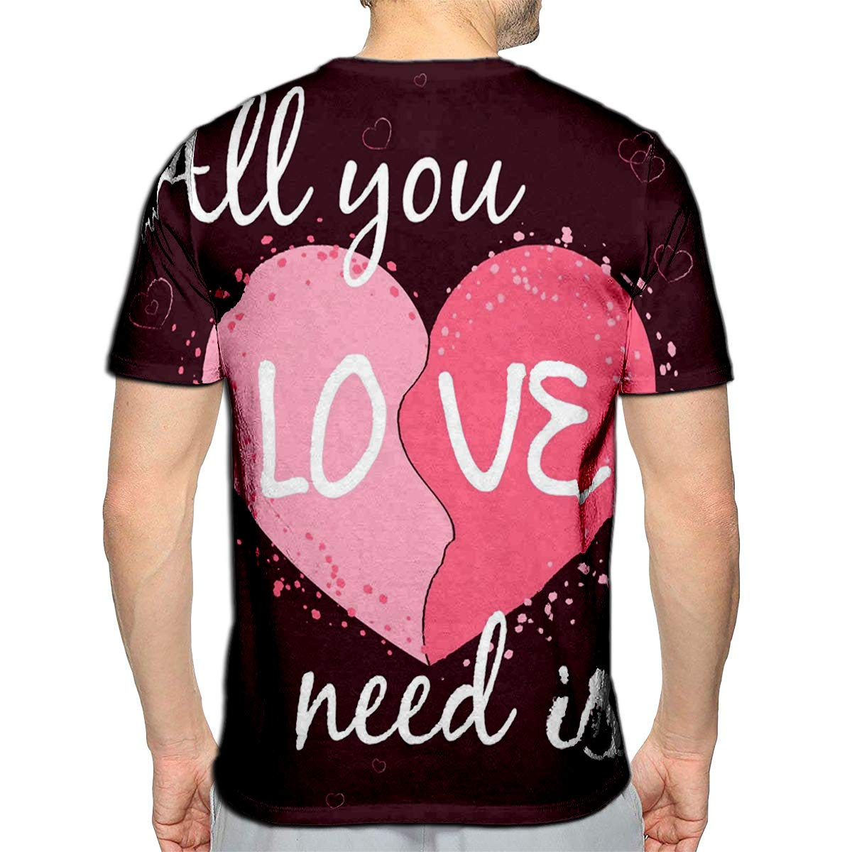 3D Printed T-Shirts Mom The Heart at Family Home Short Sleeve Tops Tees