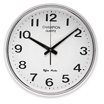 office wall clock. Very Bold 12 Inch Office Master Champion Quality Wall Clock Ccc1244 L