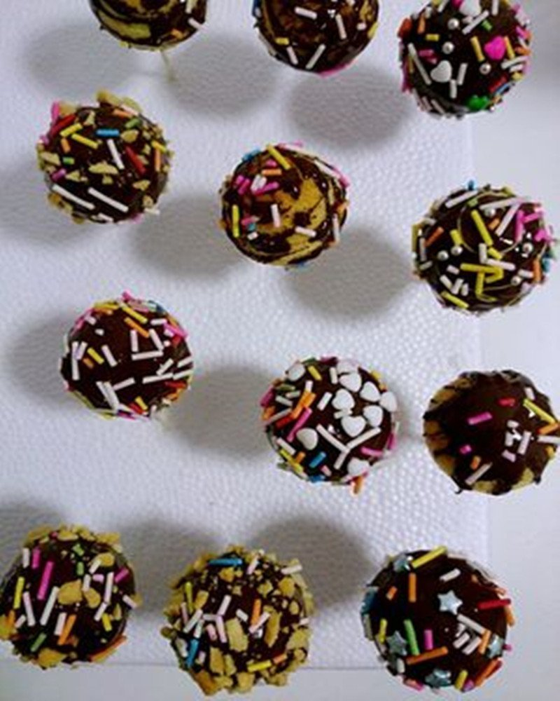 Itian Molde para Cake Pop - Silicone Cake Pop Molde hace 20 Cake pops: Amazon.es: Electrónica