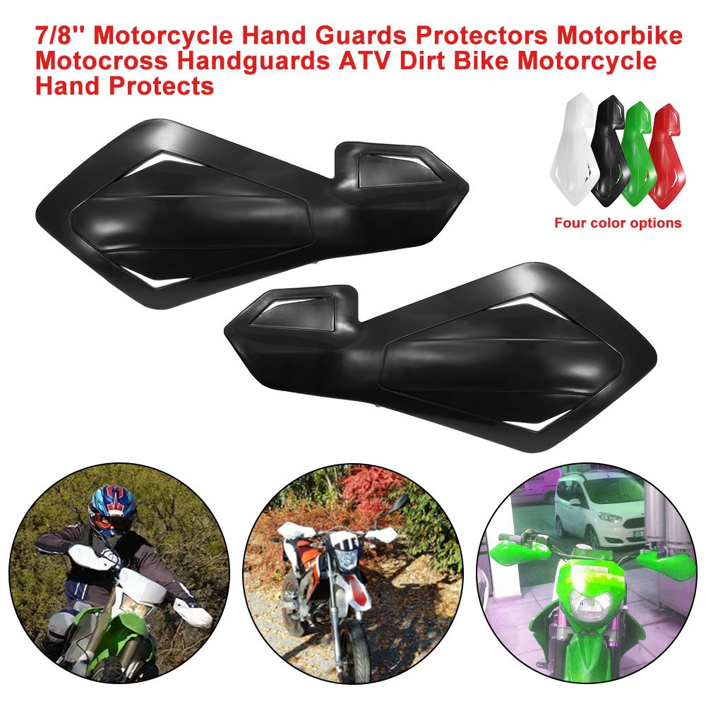KKmoon Motorcycle Hand Guards Protectors Motorbike Motocross Handguards ATV Dirt Bike Motorcycle Hand Protects