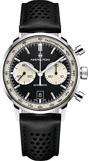 a702cf998 HAMILTON Intra-Matic 68 Limited to 1968 Pieces H38716731: Amazon.ca: Watches