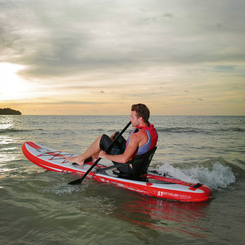 Zray Paddle Board 9'10'' Inflatable SUP Package (Board, Pump, Paddle and Backpack bag), 6'' Thickness by Zray (Image #6)