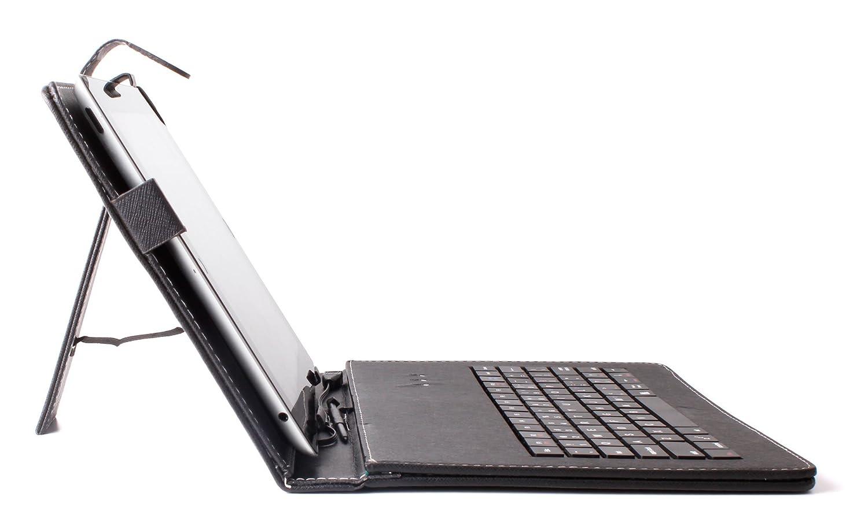duragadget custodia ttastiera  DURAGADGET Custodia//Tastiera Nera Per Tablet Di 7 - Connessione ...