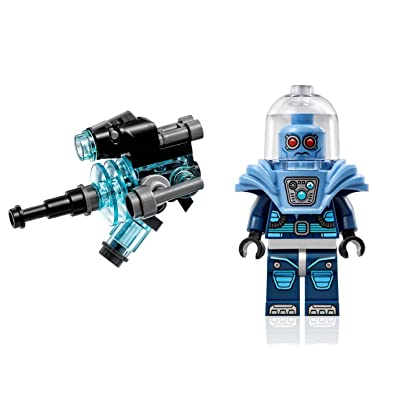 LEGO The Batman Movie Minifigure - Mr. Freeze (w/ Large Blaster Gun) 70901: Toys & Games