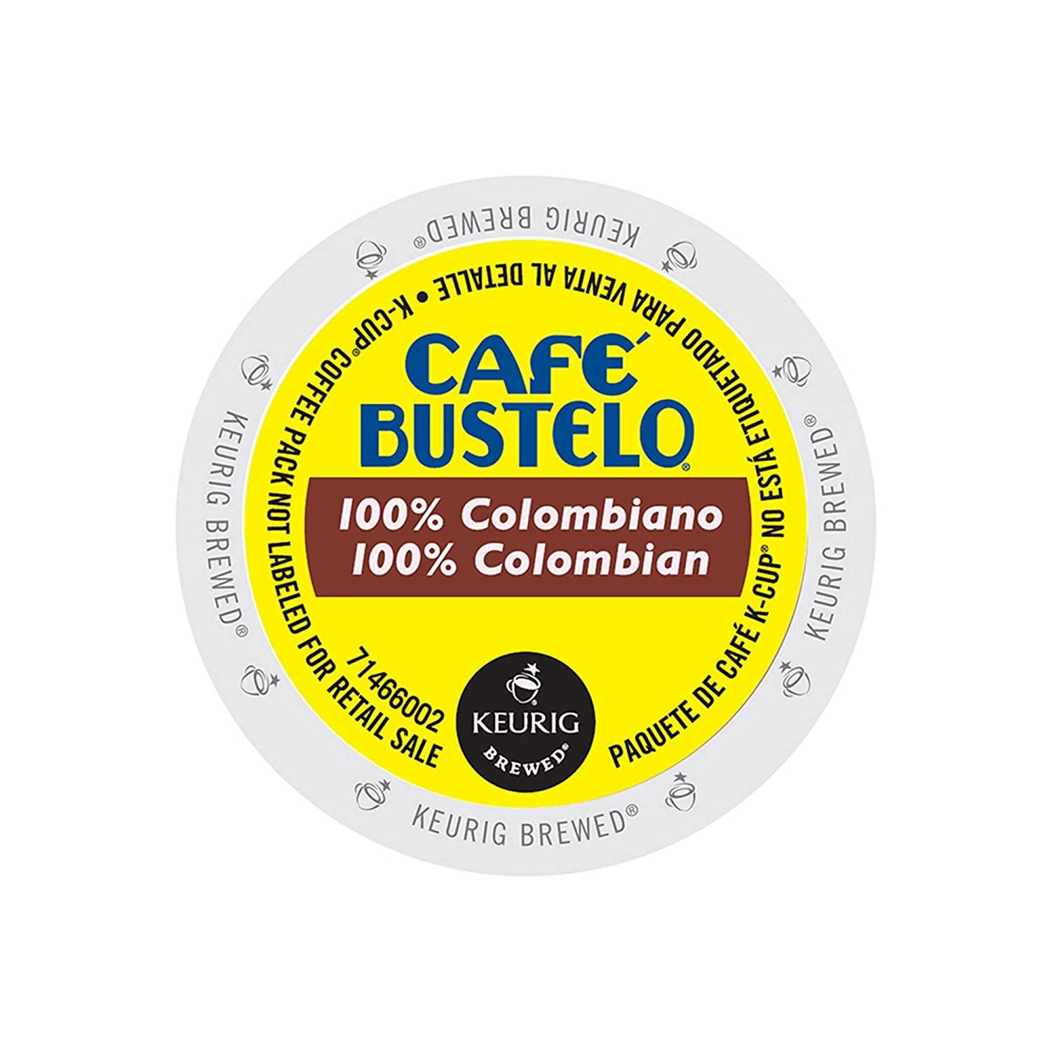 Café Bustelo 100 % Colombian Coffee K-Cups for Keurig Brewers, 24 Count