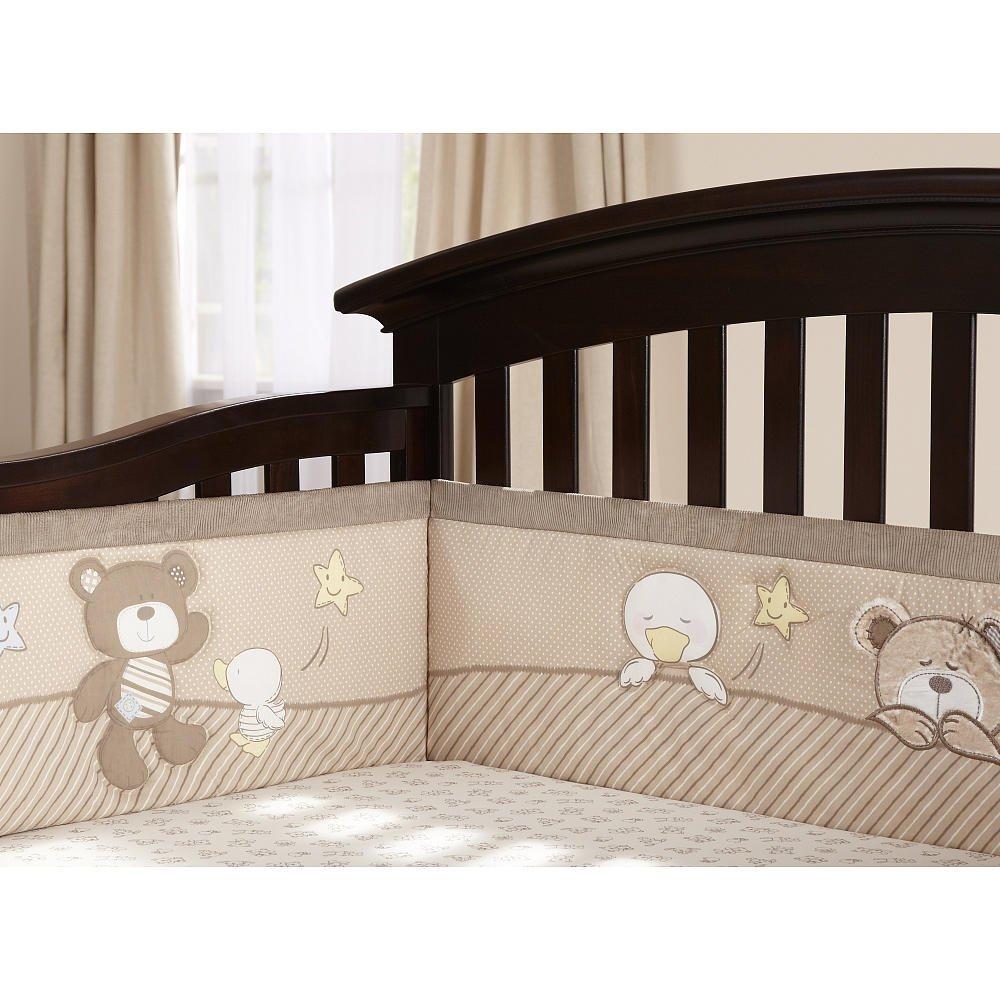 Amazon Com Babies R Us B Is For Bear 4 Piece Crib