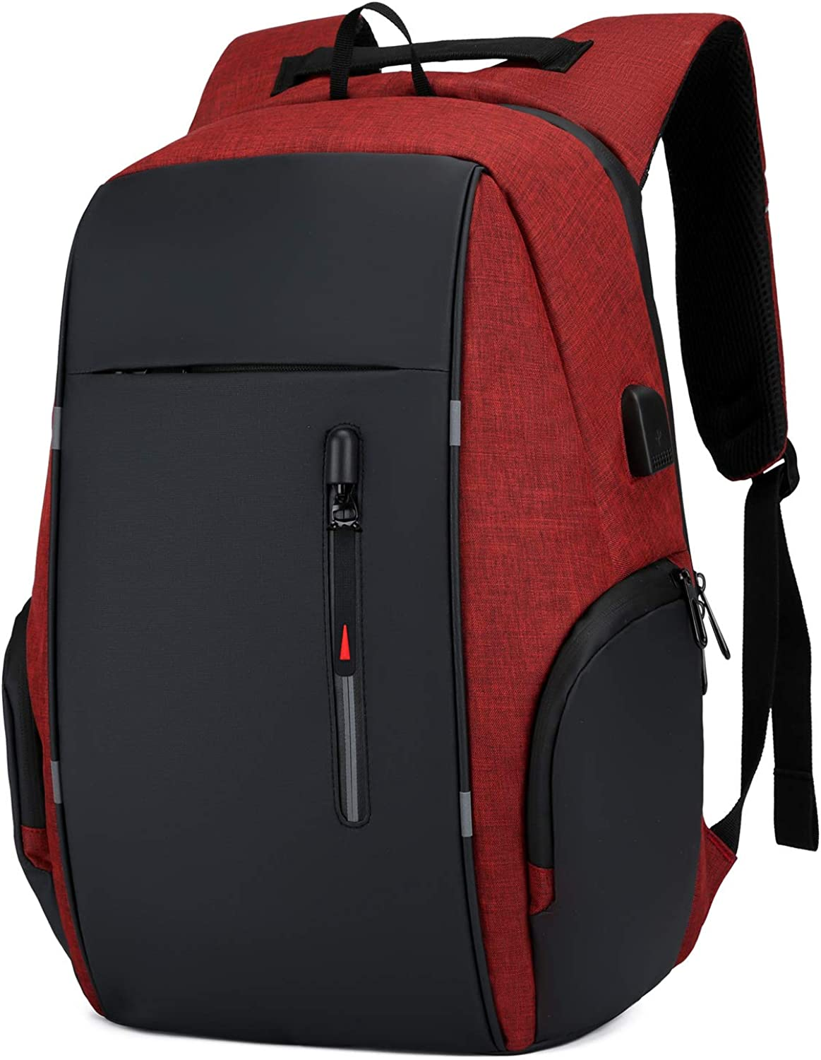 15.6 Inch Laptop Backpack for Men Women Anti-Theft Business Bag with USB Charging Port