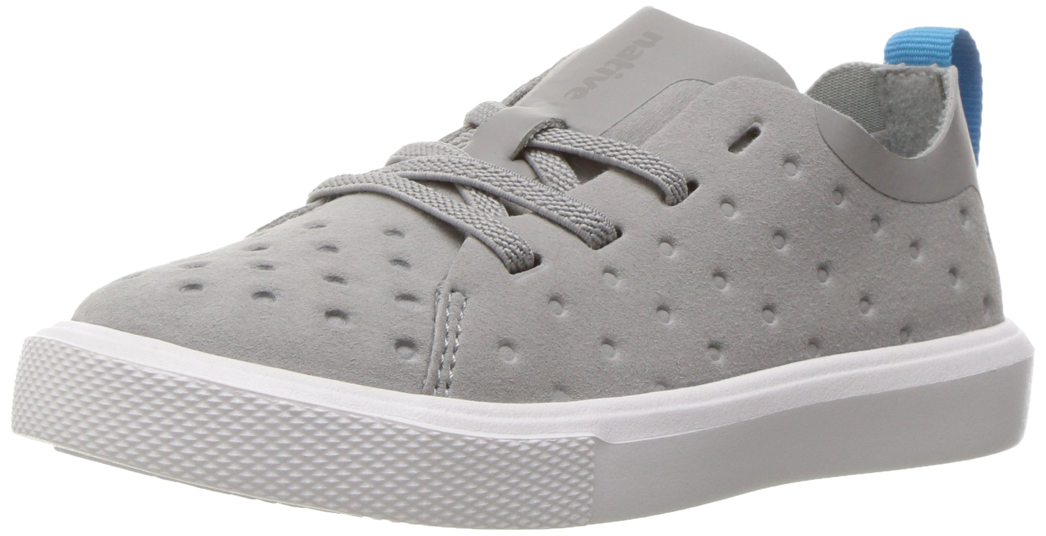 native Kids Kids' Monaco Low Slip-on, Pigeon Grey/Shell White, 8 M US Toddler