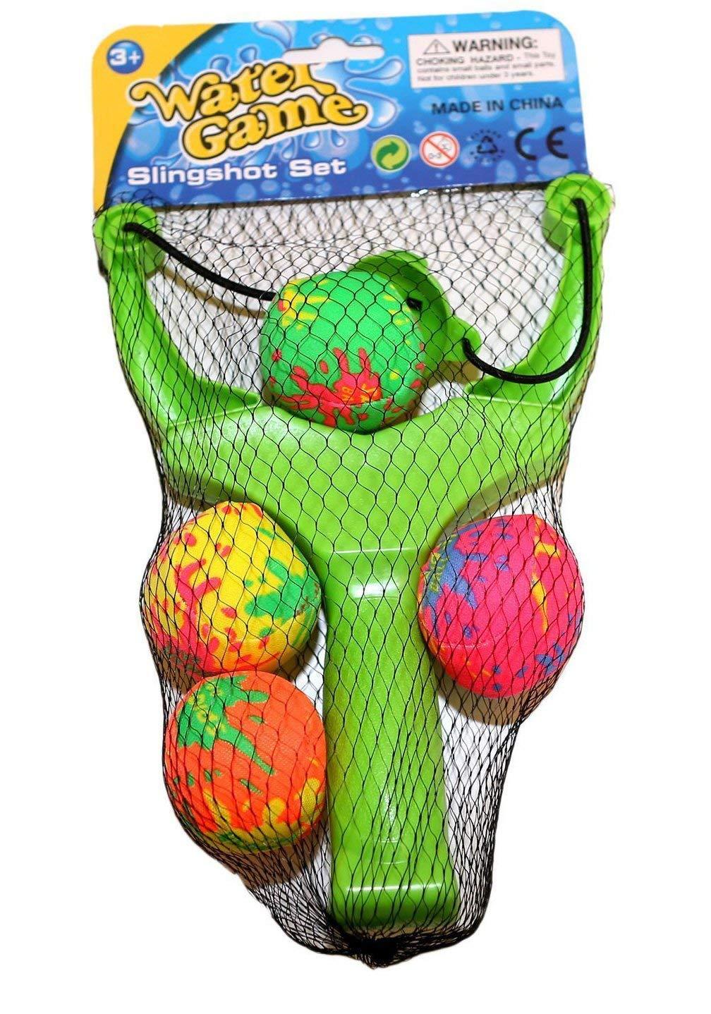 The Toy Company Wasserbomben Schleuder fü r Pool 4 Sü ck Splash Ball greework