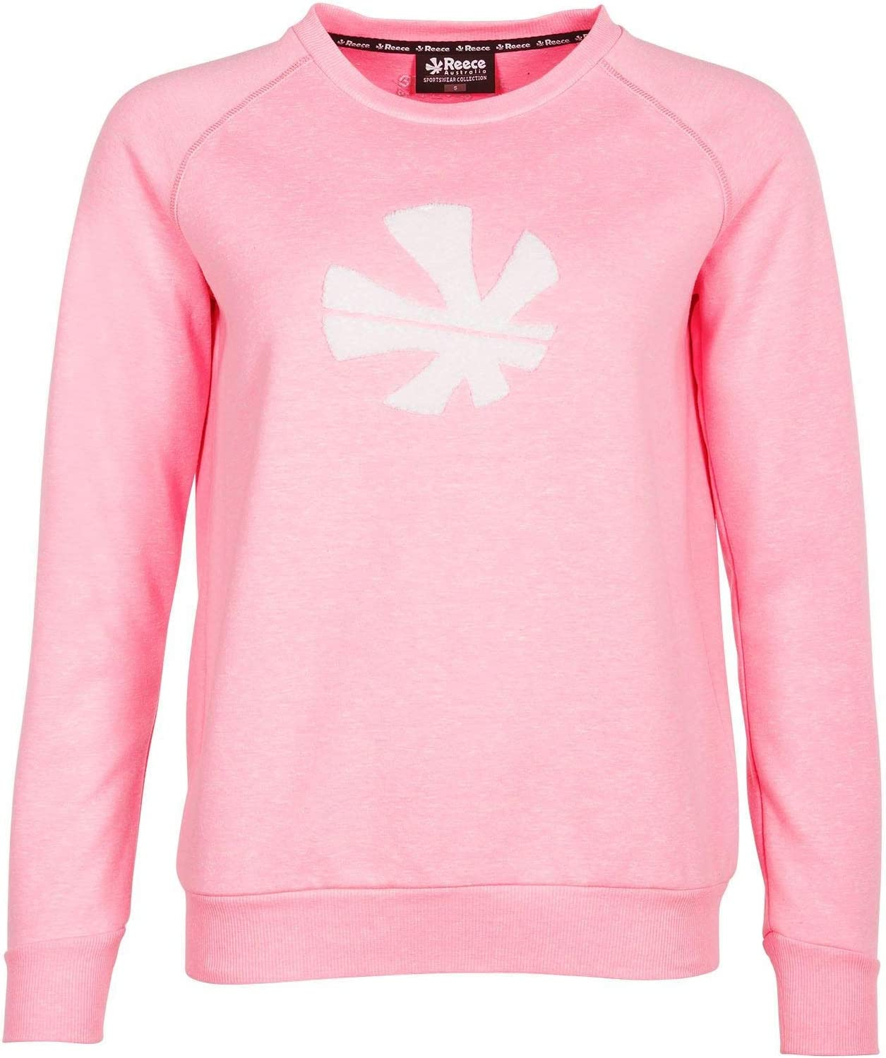 Reece Australia Classic Sweat Top Rundhals Damen pink