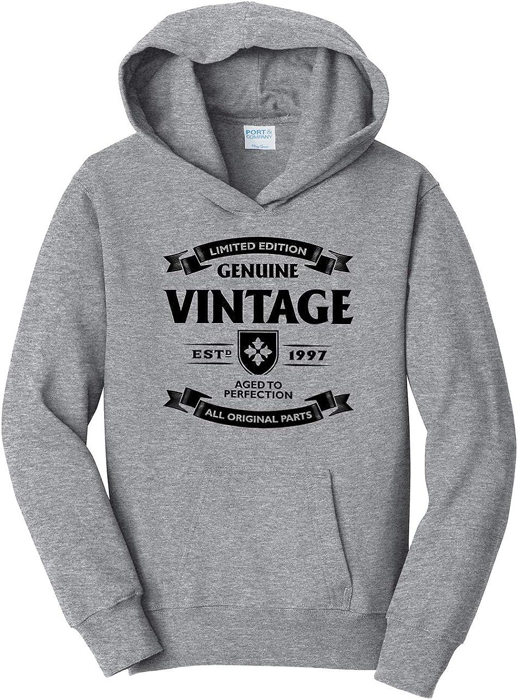 1997 Hooded Sweatshirt Tenacitee Girls Aged to Perfection