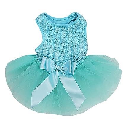 Light Blue Dog Dresses