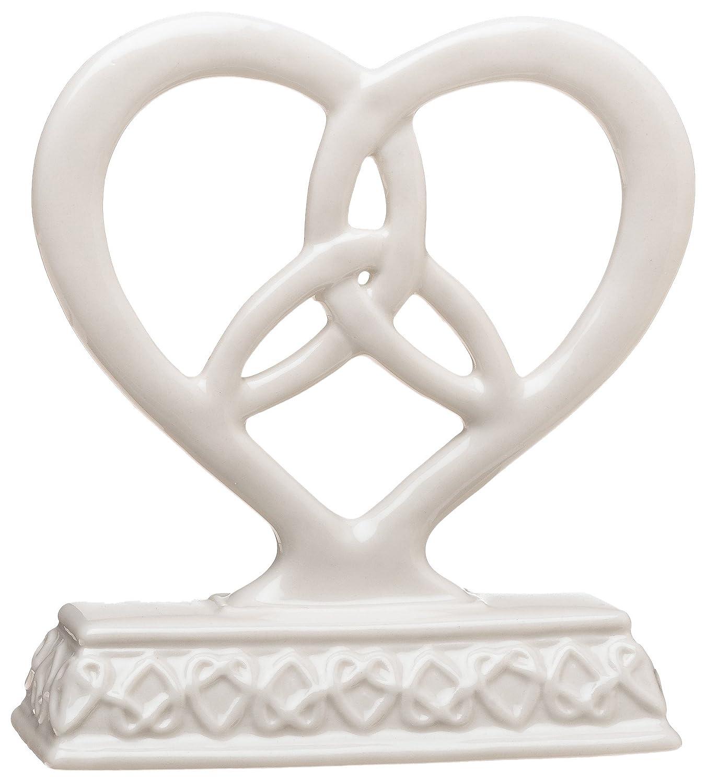 Amazon.com: Weddingstar Heart Framed Trinity Knot Cake Top: Kitchen ...