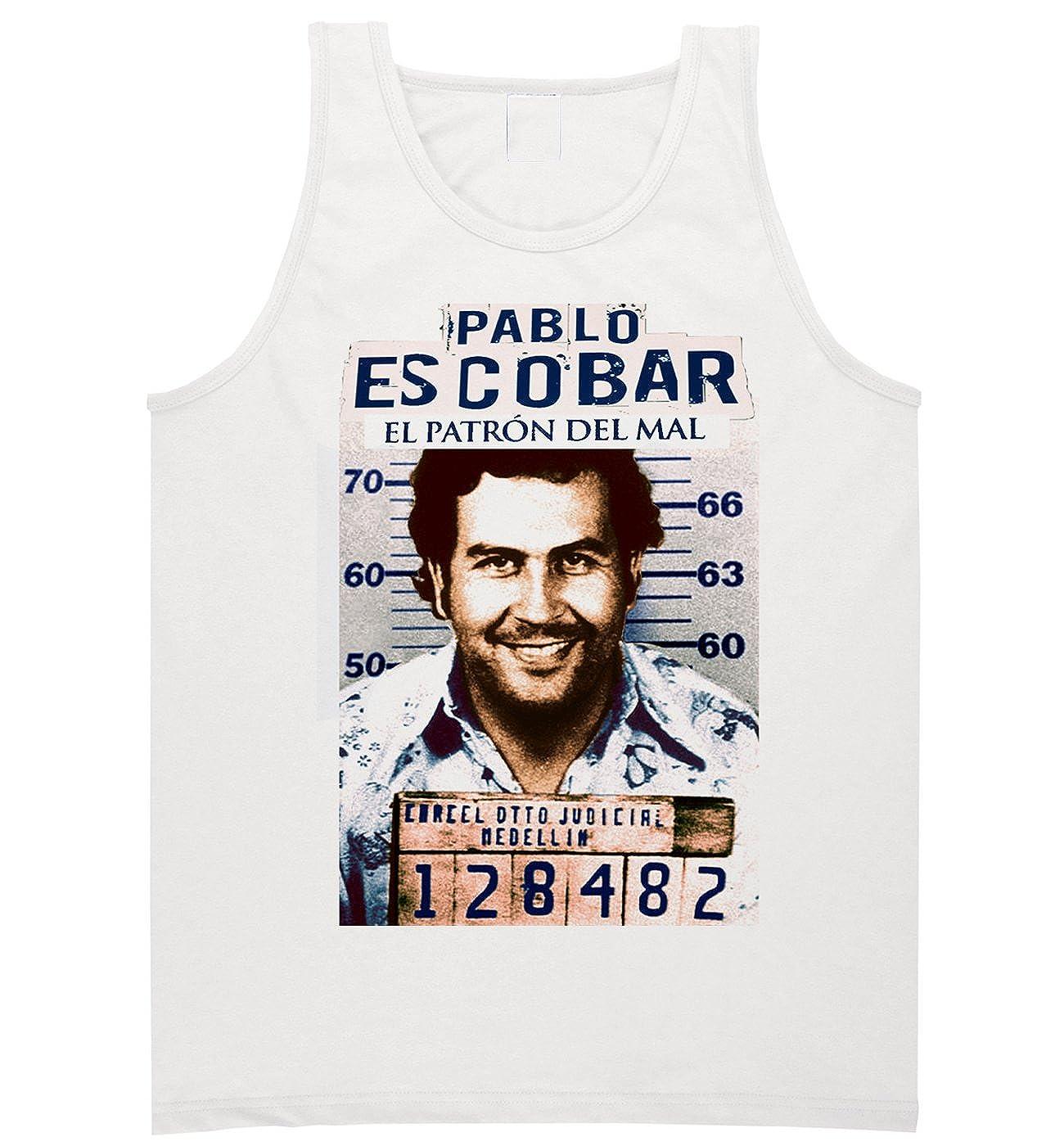 b745a145 Pablo Escobar Medellin Cartel Colombia T-shirt El Patron Tank Top in Color  at Amazon Men's Clothing store: