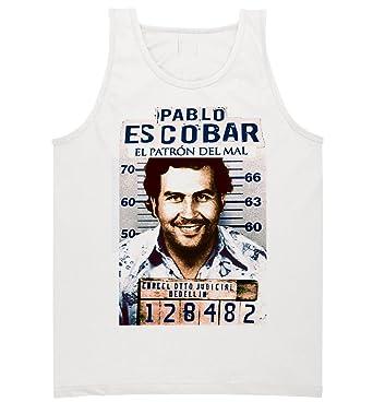 92cd697e Pablo Escobar Medellin Cartel Colombia T-shirt El Patron Tank Top in Color  (Small