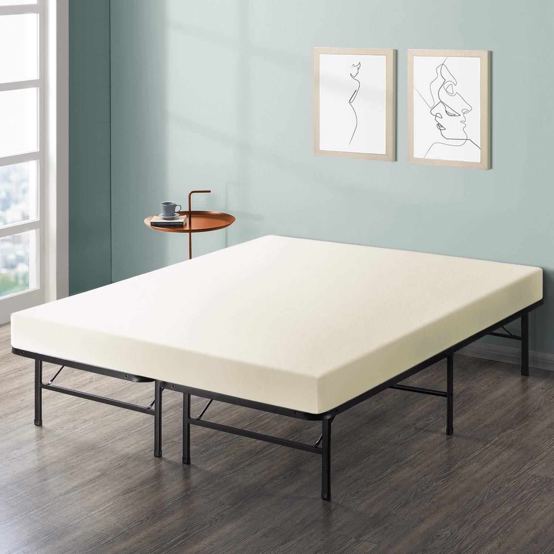 Best Price Mattress 6'' Comfort Memory Foam Mattress and Bed Frame Set, Full